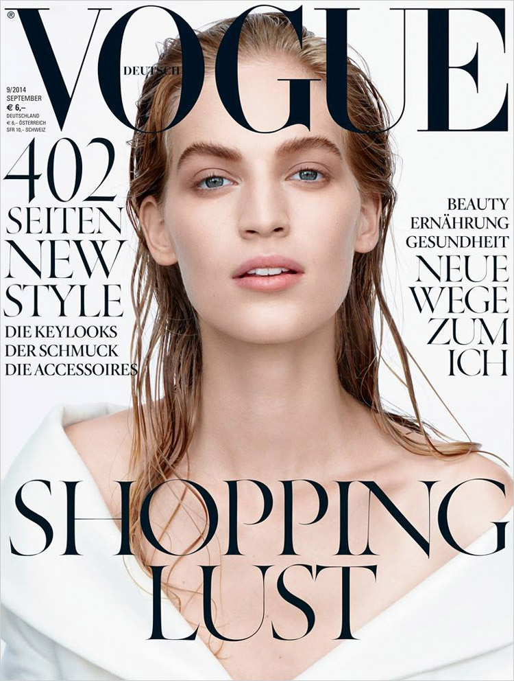 Vanessa Axente For Vogue Germany September 2014