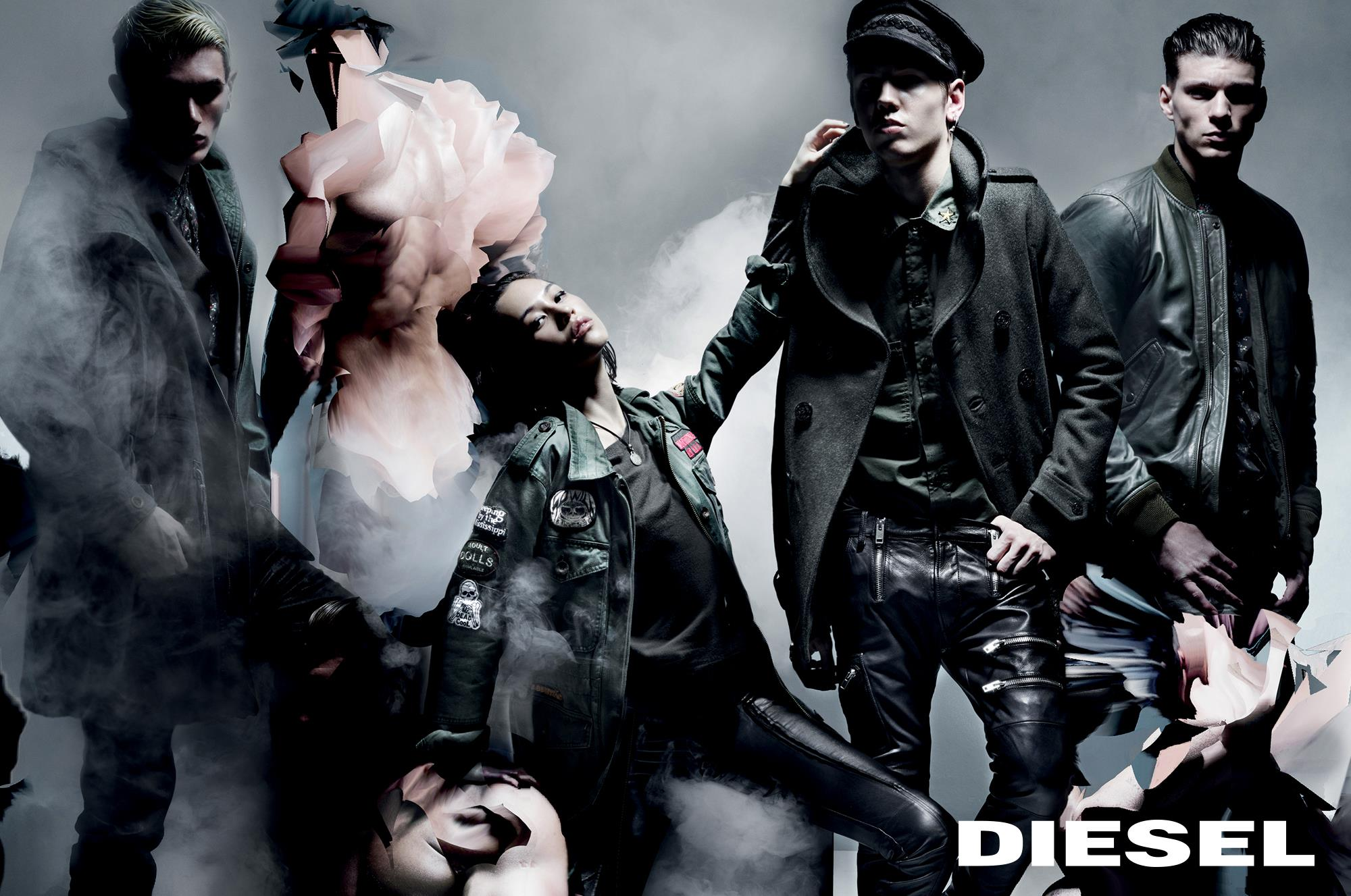 nick knight and nicola formichetti work on diesel fall
