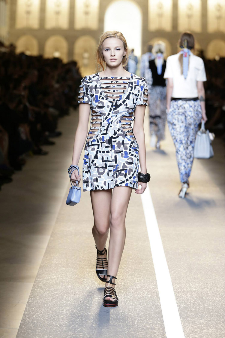 Fendi Spring Summer 2015 Womenswear Collection