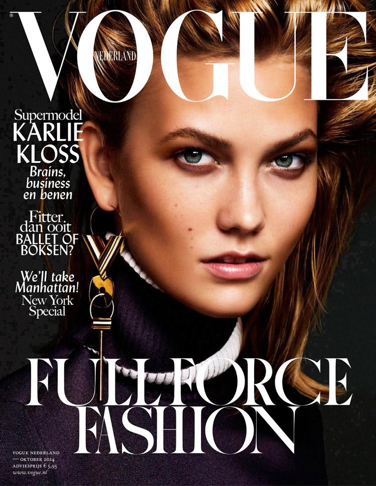 Vogue Magazine Subscription: Karlie Kloss For Vogue Netherlands By Alique