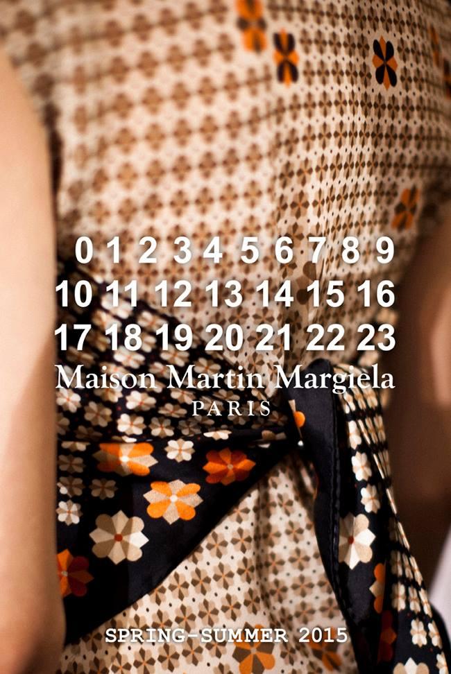 Maison Martin Margiela Spring Summer 2015 (1)