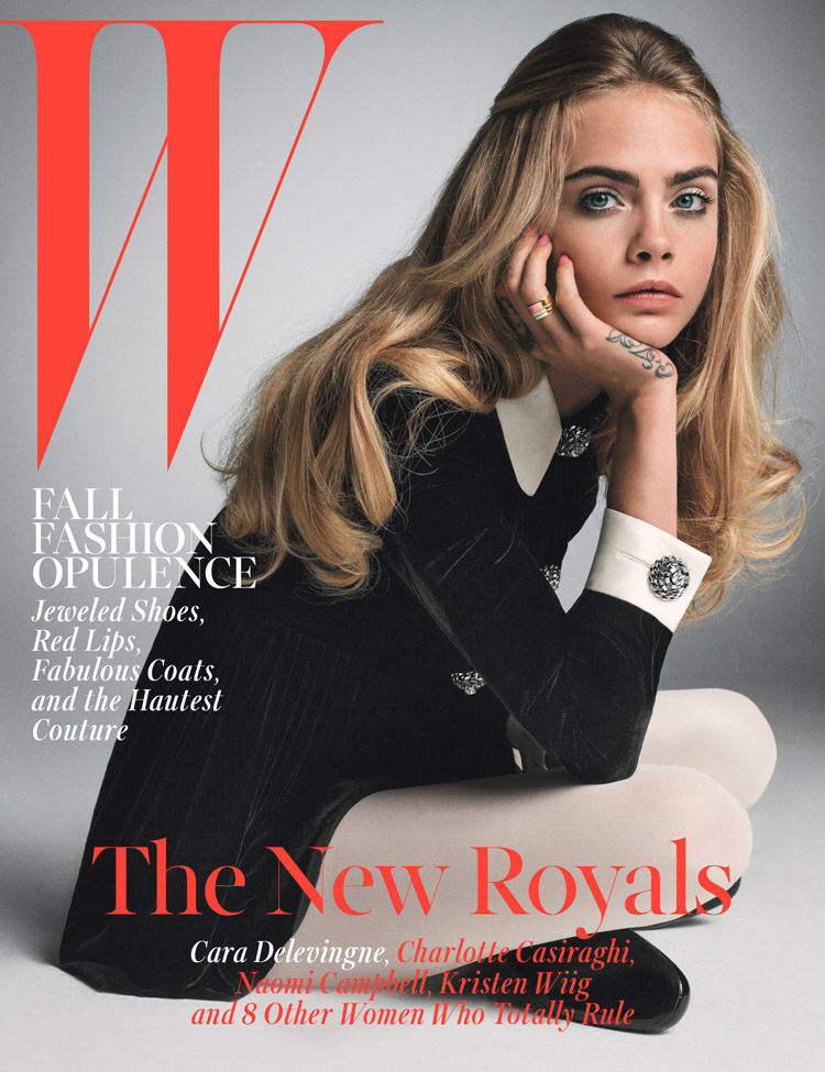 W Magazine S Supermodel Cover Girls: The New Royals By Inez & Vinoodh For W Magazine