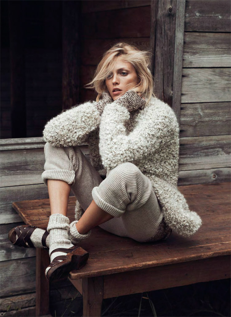 Anja Rubik For Vogue Paris By Lachlan Bailey