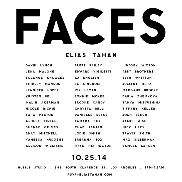 FACES-Invite