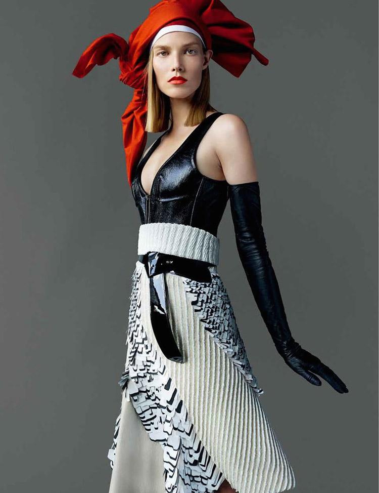 Suvi Koponen For Vogue Japan By Mario Testino
