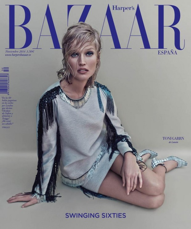 Toni Garrn Covers Harpers Bazaar Spain 01