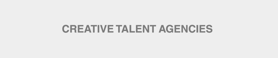 Creative Talent Agencies