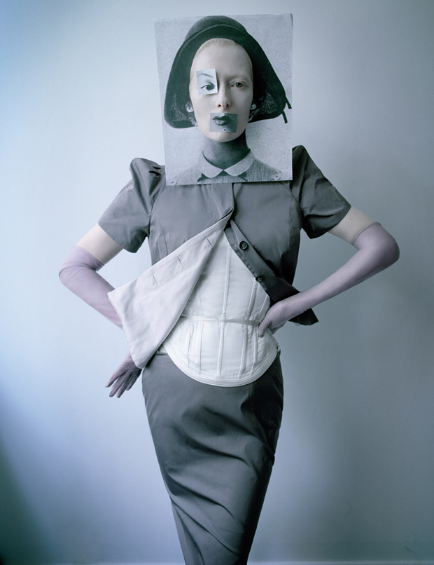 tilda swinton by tim walker for w magazine