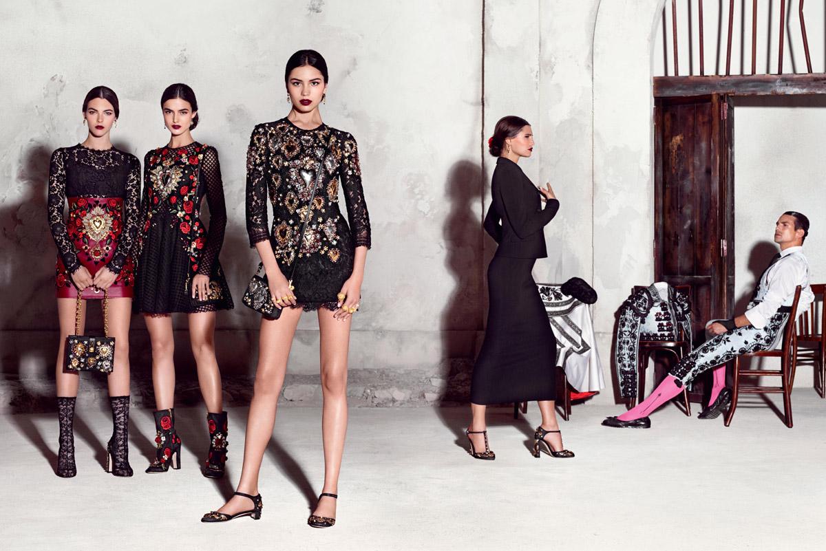 0e659a2e6a Dolce   Gabbana Spring Summer 2015 Campaign