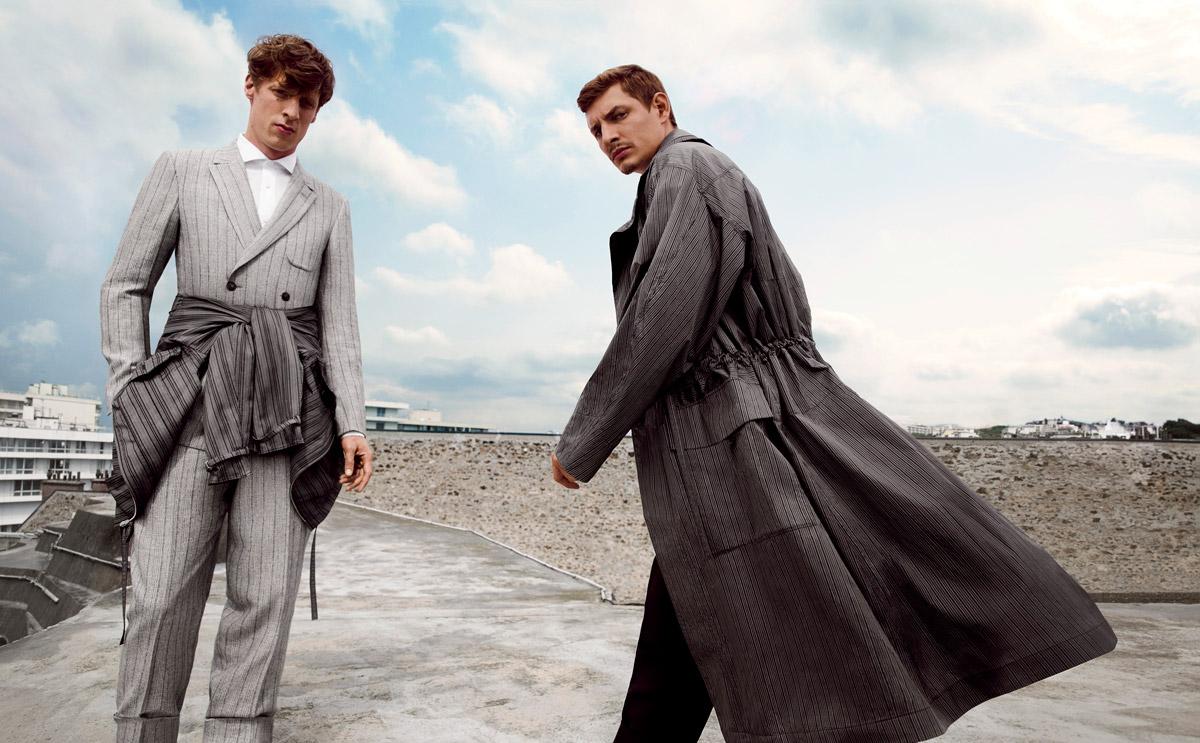 Ermenegildo Zegna Couture Ss15 By Inez Amp Vinoodh