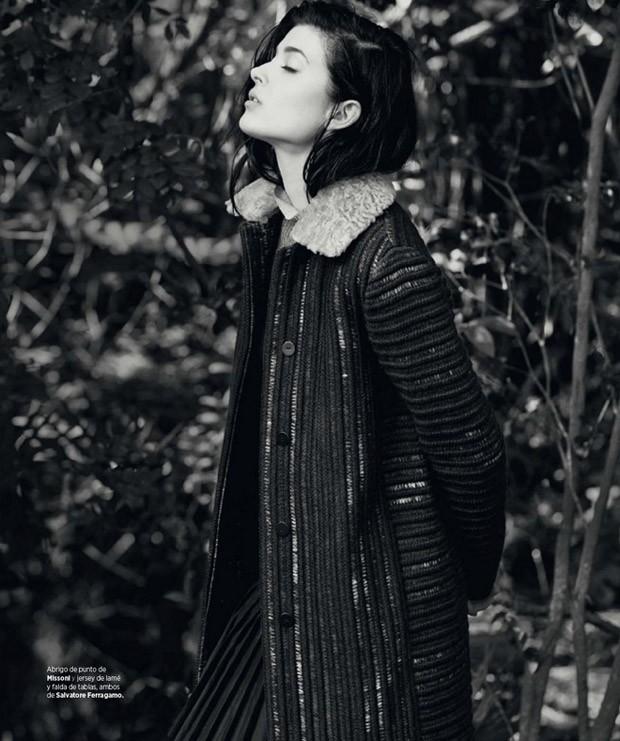 Larissa Hofmann by David Roemer for Bazaar Spain