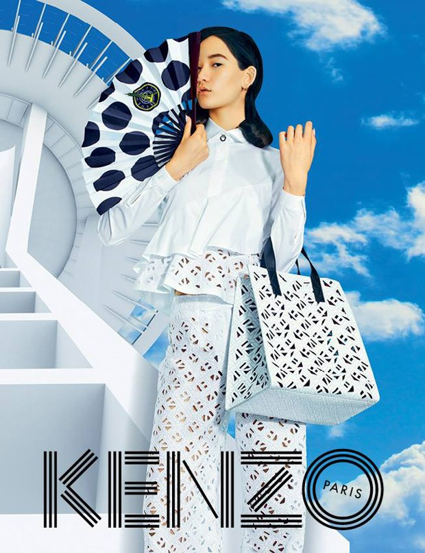 Mona Matsuoka & Qing He for KENZO Spring Summer 2015