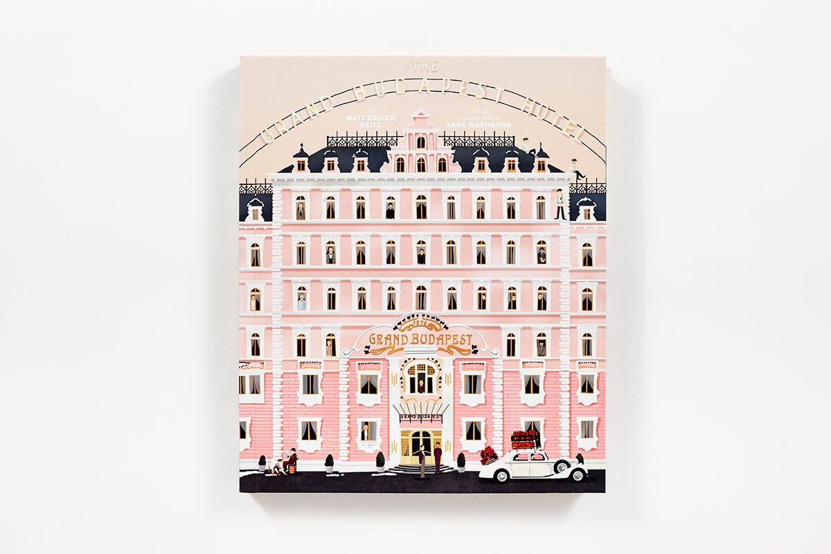 Wes anderson 39 s the grand budapest hotel is now a book - Wes anderson coffee table book ...