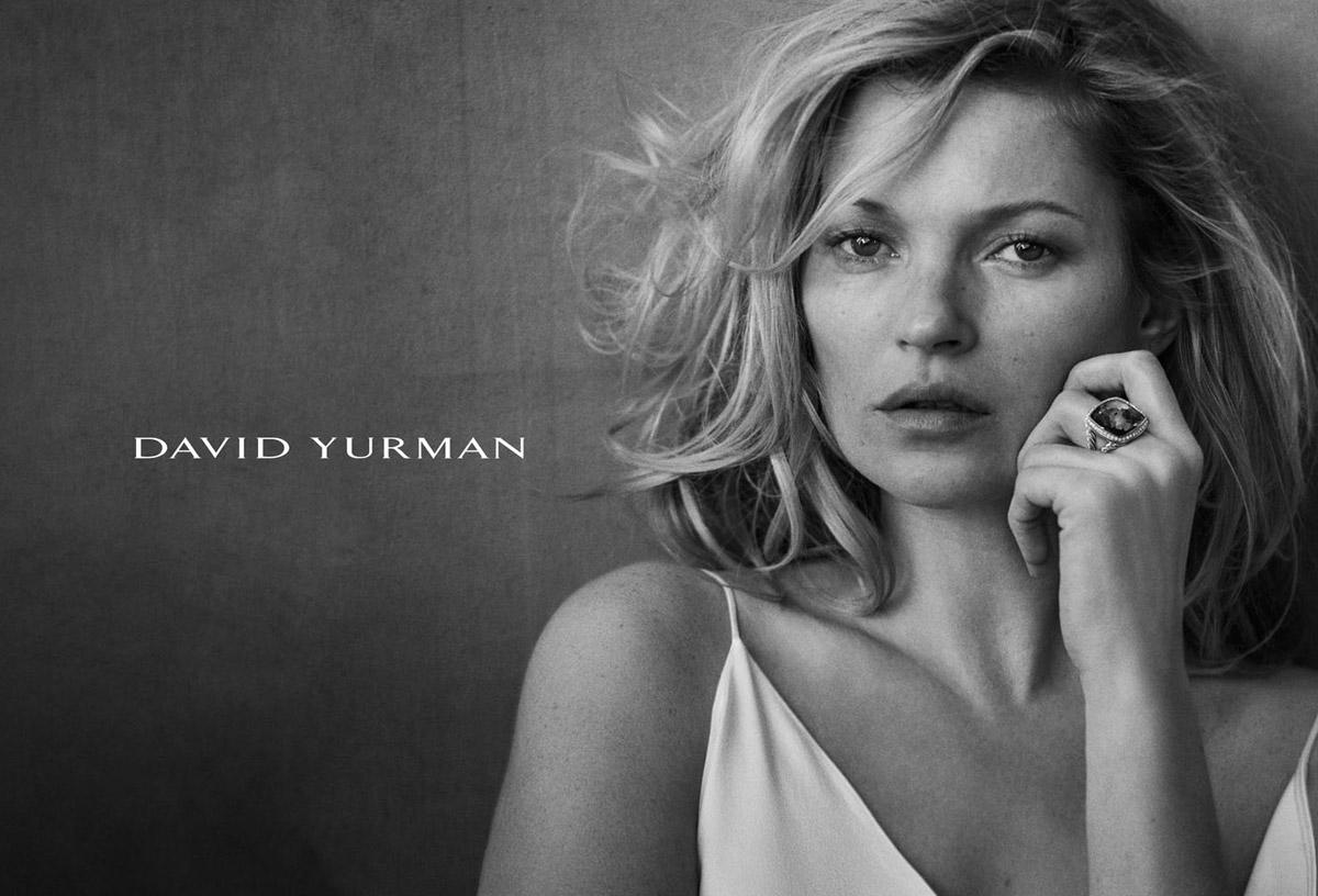 Kate Moss for David Yu...