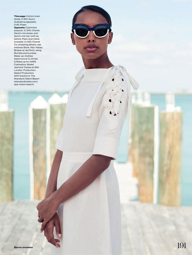Jasmine tookes for elle uk by bjarne jonasson images courtesy of atelier management ateliermanagement altavistaventures Image collections