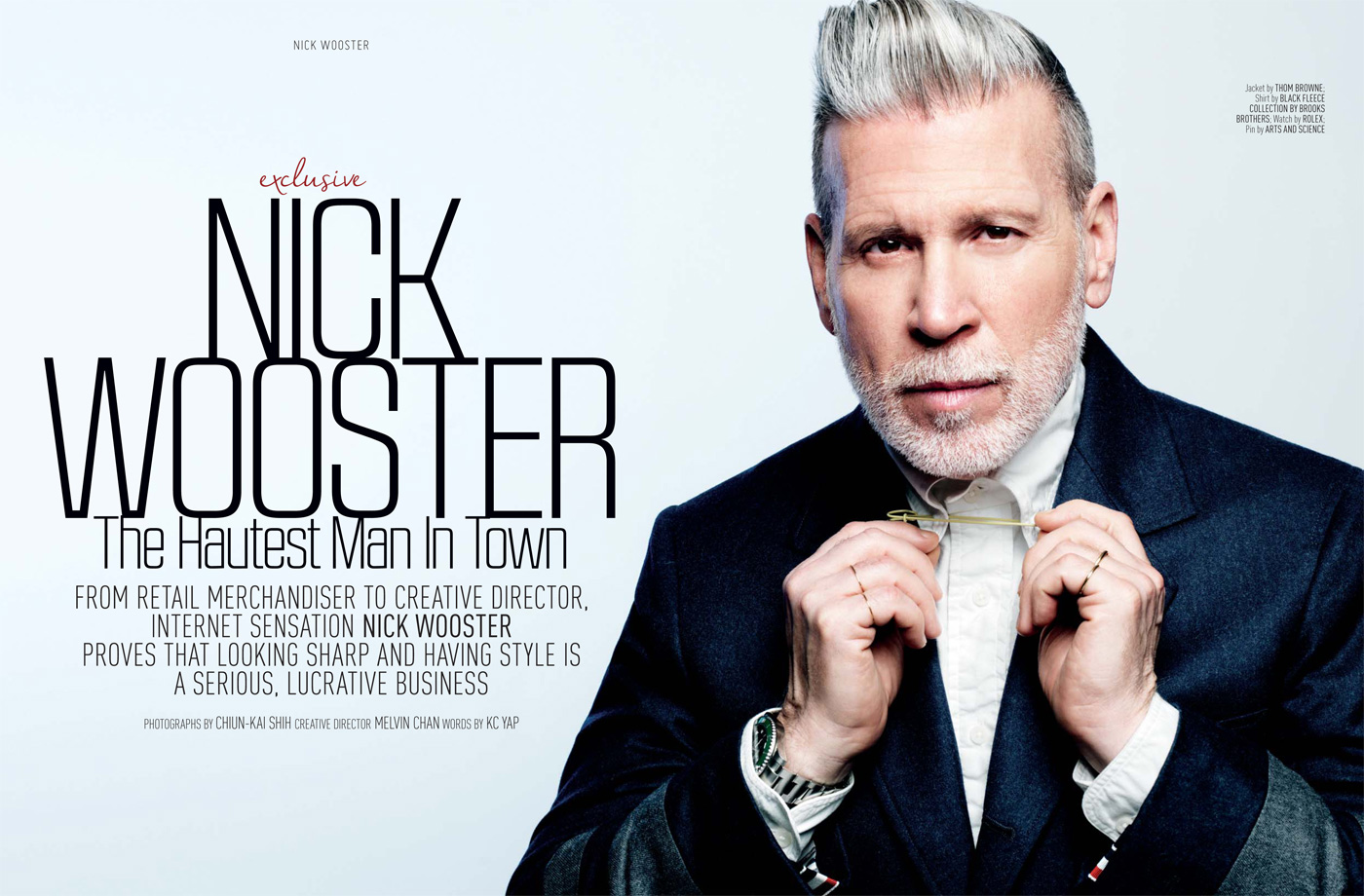 Exclusive Nick Wooster For August Man Malaysia
