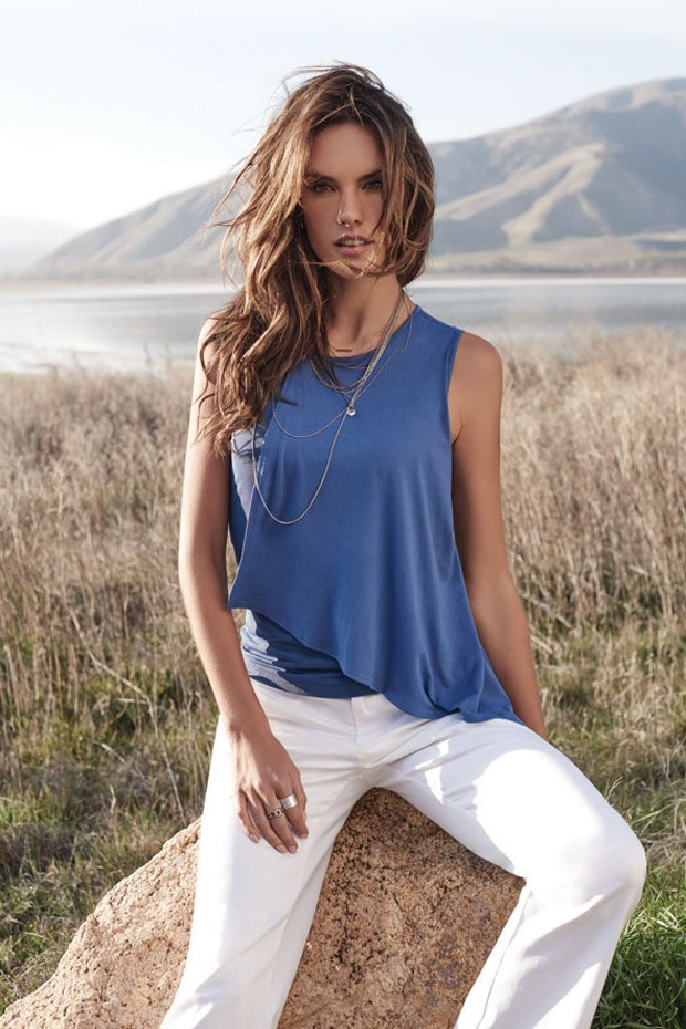 Alessandra ambrosio for arkitect camapign for Arkitect home