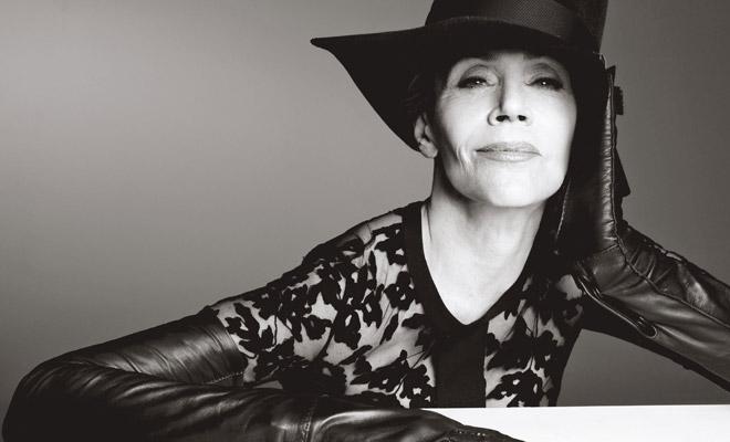 Jane Fonda for W Magazine by Steven Meisel
