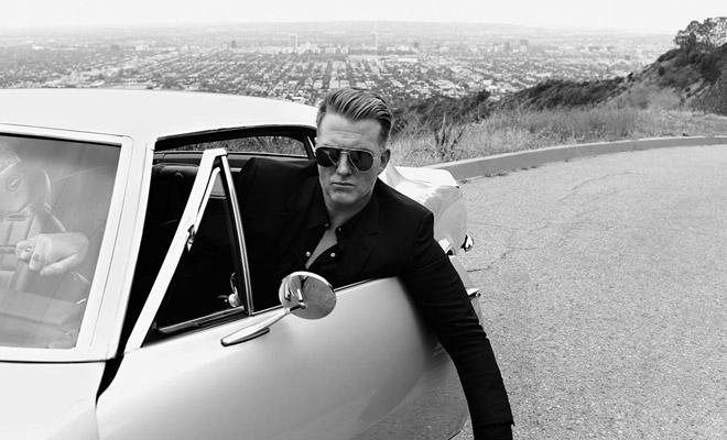 Josh Homme For Saint Laurent Music Project