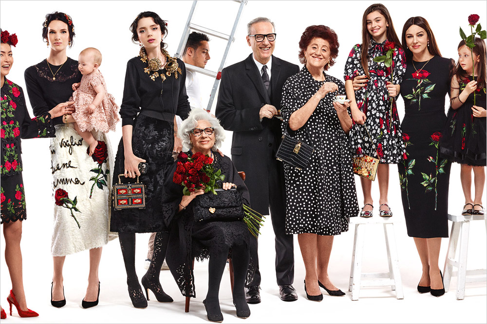 dolce gabbana fall winter womenswear campaign. Black Bedroom Furniture Sets. Home Design Ideas