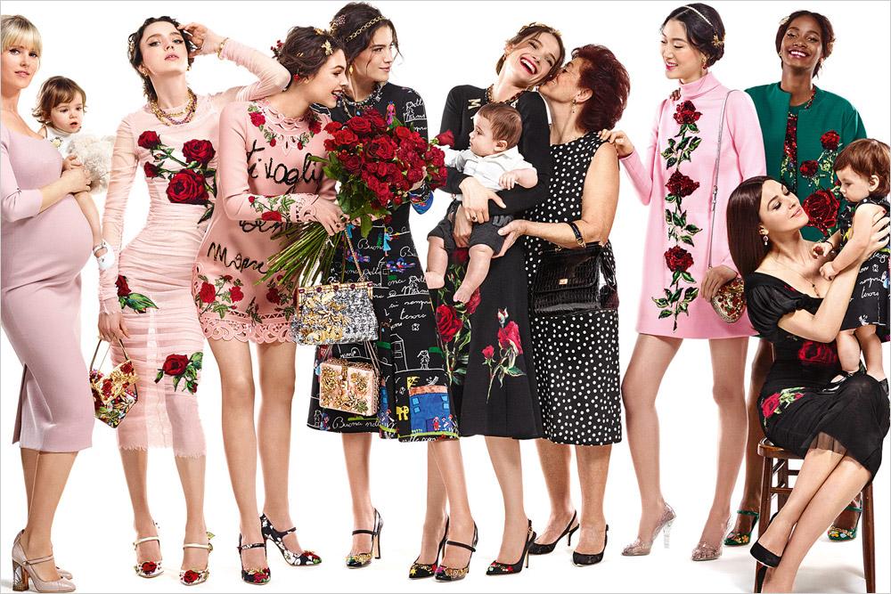 Dolce   Gabbana Fall Winter 2015.16 Womenswear Campaign 7acec0e45d9