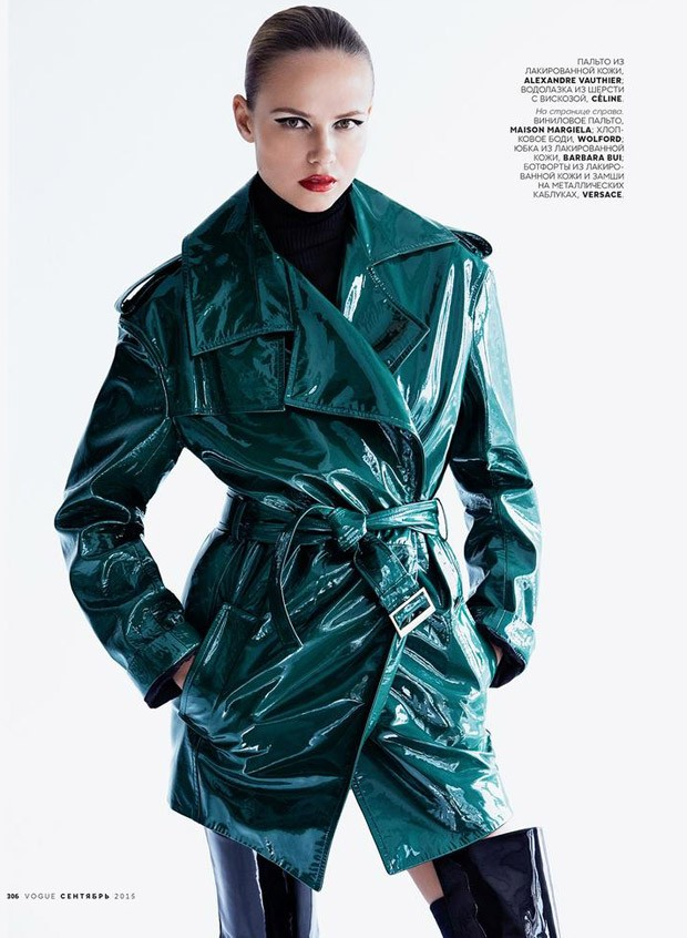 Natasha Poly for Vogue Russia by Patrick Demarchelier