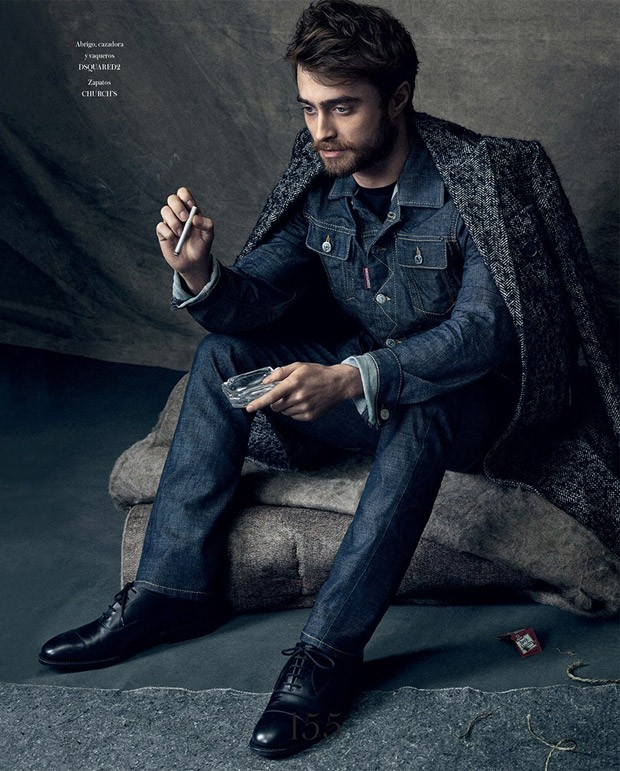 Vanity Jeans For Men : Daniel radcliffe for icon el pais by michael schwartz
