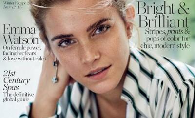 Emma watson covers porter magazine winter escape 2015 - Porte magazine design ...