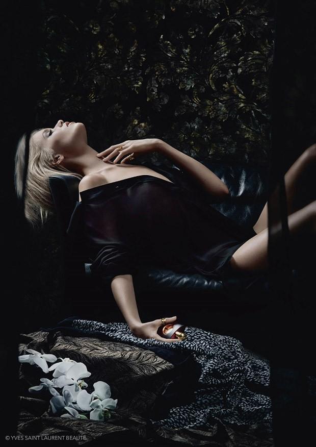 Abbey Lee for Yves Saint Laurent Opium