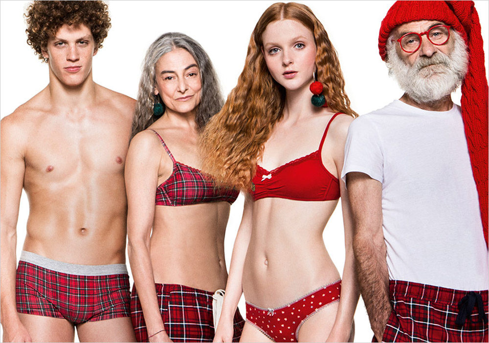 undercolors of benetton holiday 2015 by giulio rustichelli