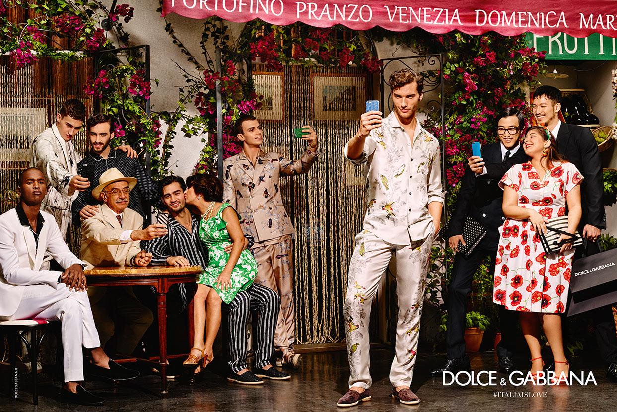 Dolce & Gabbana Unveils Its SS16 Campaign #ITALIAISLOVE - Design ...