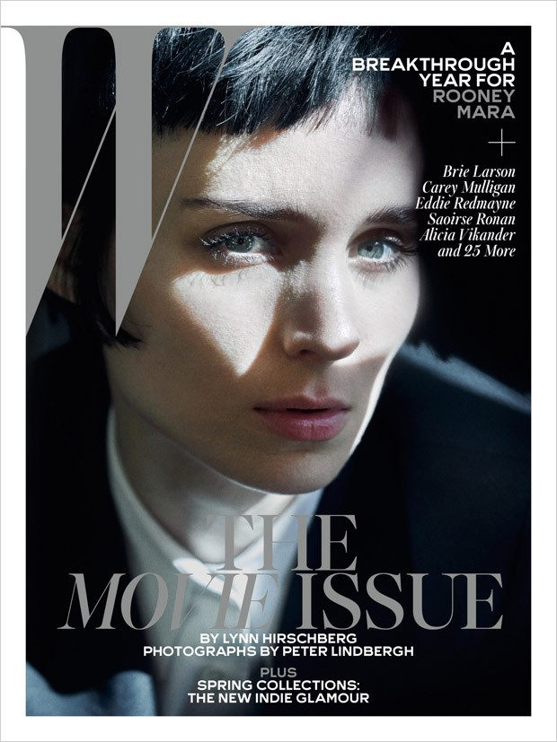 W Magazine Movie Issue By Peter Lindbergh