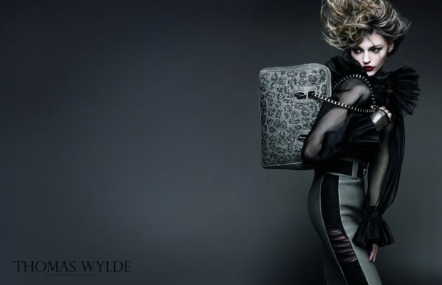 Sasha-Pivovarova-by-Greg-Kadel-for-Thomas-Wylde-Spring-Summer-2011-01