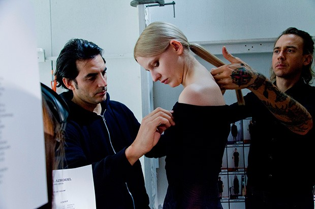 Yigal Azrouël-backstage (15)