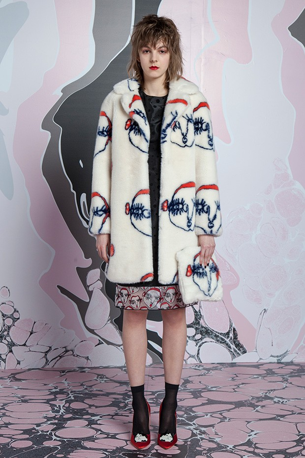 Lfw Shrimps Fall Winter 2016 Collection Design Scene
