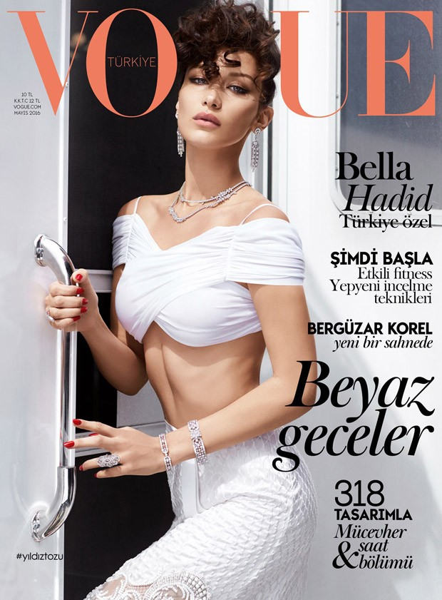 0e4c6f881ab3 Bella Hadid Covers Vogue Turkey May 2016