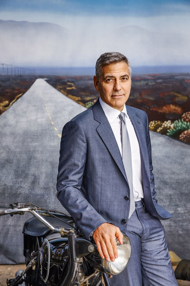 George Clooney for Esquire Magazine by Nigel Parry