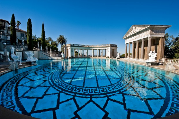 Concessionaires help maintain Hearst Castle