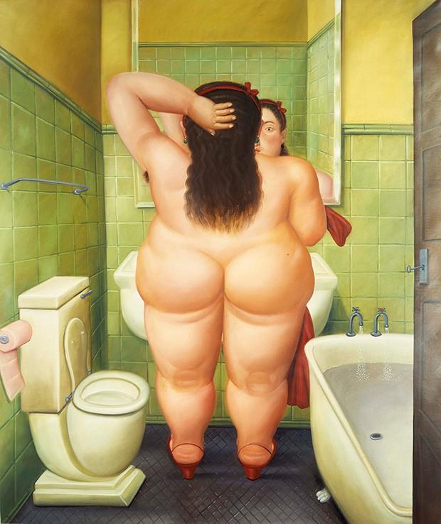 15_The_Bathroom_Botero_Kunsthal
