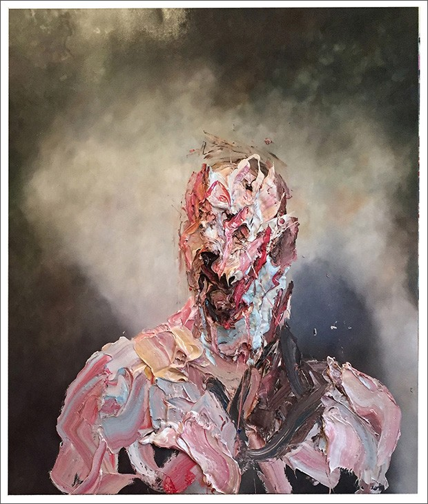 4.ANTONY-MICALLEF-安東尼·麥克勒夫-b.-1975-Raw-Intent-No.-2意圖-二,-2016-Oil-with-beeswax-on-French-linen法國亞麻布面蜂蠟油畫-153-x-132-cm;-60-1_4-x-52-in.-