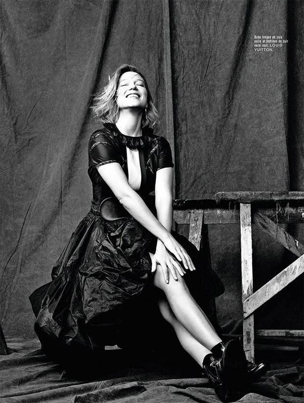 9e1de0fe6be Lea Seydoux for L Express Styles by Matthew Brookes