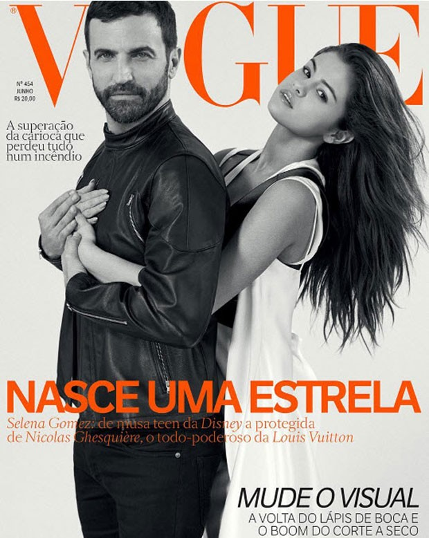 Selena Gomez louis vuitton nicholas ghesquiere cover vogue brazil june 2016