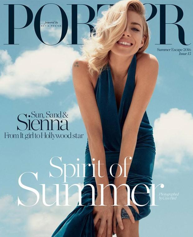 Sienna miller covers porter magazine summer escape 2016 - Porte magazine design ...