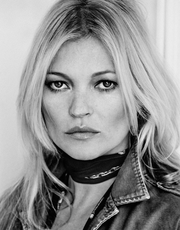 Kate Moss For The Edit Magazine By Chris Colls