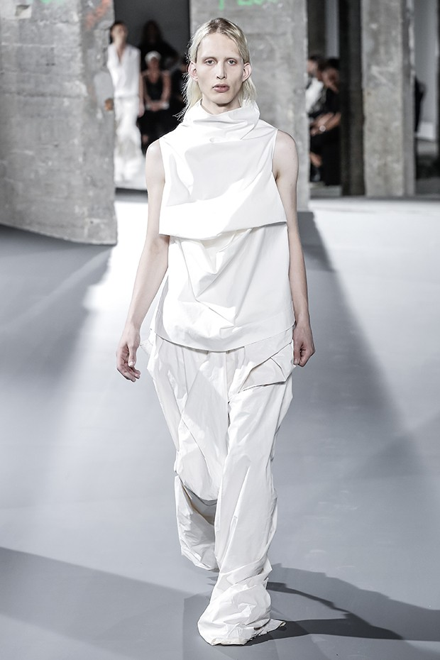 Rick Owens Fashion show, Menswear collection Spring Summer 2017 in Paris