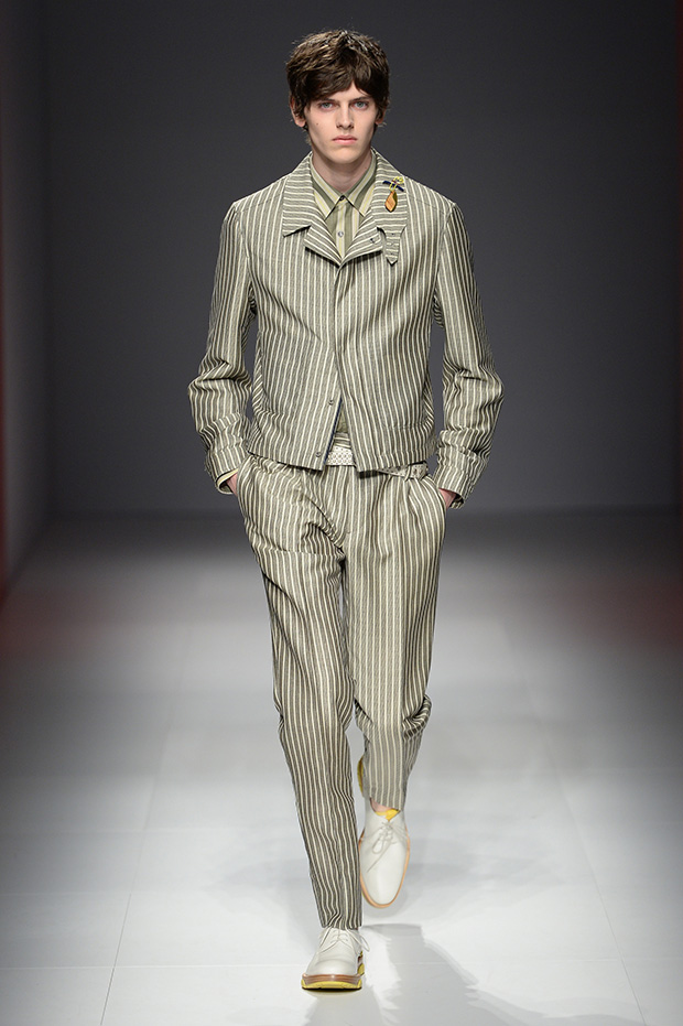 #MFW Salvatore Ferragamo SS17 Menswear Collection