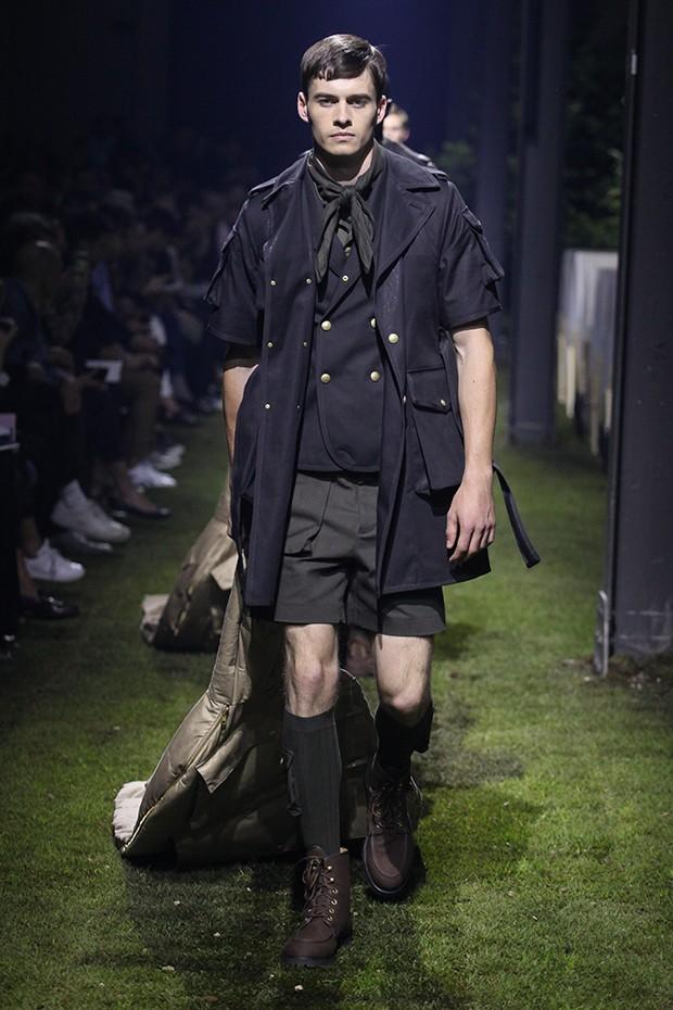 moncler male model
