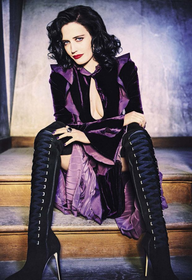 Eva Green Stars in Glamour Italia's August 2016 Cover Story