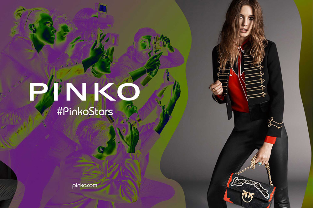 pretty nice 73c5f 85897 Nadja Bender for Pinko Fall Winter 2016.17 Campaign