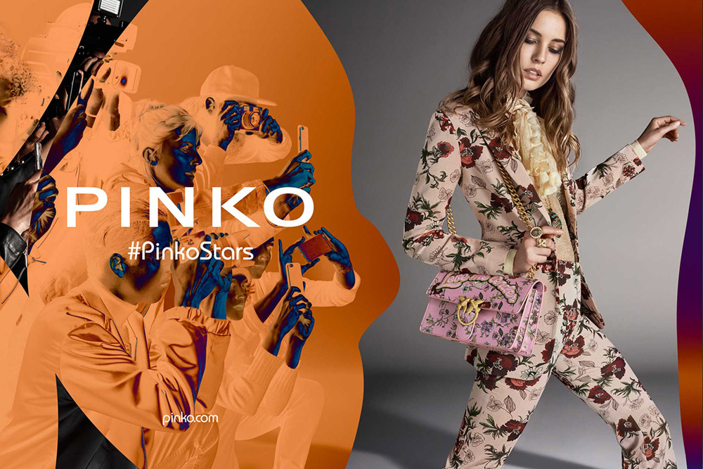 pretty nice 17e5a d5416 Nadja Bender for Pinko Fall Winter 2016.17 Campaign